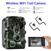 Wireless Wifi Trail Hunting Scouting Camera with 2pcs Holder Mounting Tree Nail