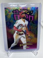 """Bryce Harper """"The Man"""" Insert 2020 Topps Finest Philadelphia Phillies"""