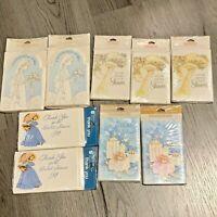 Vintage American Greeting Cards Bridal Shower Invitation Lot of 9