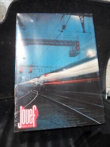 Jouet toys Coffret JOUEF Régional Express inox Train Locomotive Wagons rails HO