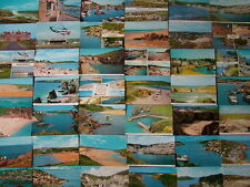 71 Unused Postcards of CORNWALL. 1960's - 1980's. Standard size. Mint condition.