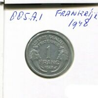 1 FRANC 1948 FRANCE French Coin #AN292UW