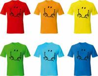 Mr Happy Kids Funny T-Shirt Mr-Men Gift Tee Top
