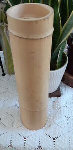 BAMBOO POLE LARGE DIAMETER CUT TO SIZE TO MAKE A TABLE LAMP