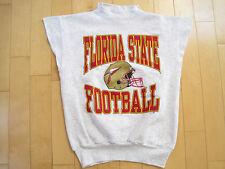 Never Worn! 80s vtg Florida State Seminoles sweat shirt Sleeveless gym Medium