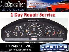 Mercedes S Class R129 and W140 Instrument Cluster REBUILD REPAIR SERVICE BEST!