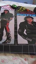 """MICHAEL JACKSON BAD LP ATTIRE EXCITING PROMO 1987 ORIGINAL POSTER 23X29"""" RARE"""