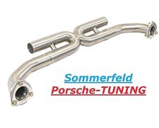 Porsche Carrera 997 S X-Pipe MK2 Sport Mittelschalldämpfer Sport Center Exhaust