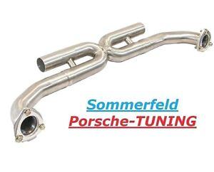 Porsche Carrera 997 S X-Pipe MK2 Sport Mittelschalldämpfer Sport Center Exhaust