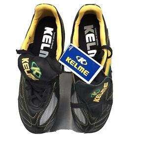 KELME KATIA Brasil Women's Sz US 7 Indoor Soccer Shoes Black New With Tags