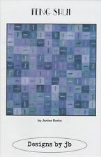 Feng Shui, Quilt Pattern, Designs by jb DIY, Great with Batik Fabrics!