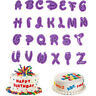 26Pcs/set Alphabet Number Letter Fondant Cake Cookie Cutter Pan Mold Biscuit HC