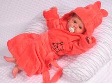 Bademantel mit Kapuze Baby Kinder Kapuzenbademantel 62 68 74 80 86