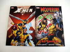 WOLVERINE FIRST CLASS & X-MEN FIRST CLASS WONDER YEARS New! Half Off! Art Adams