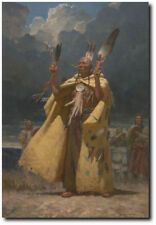 The Weather Maker by Z.S. Liang - Weather Maker - Blackfoot People - Indian Art