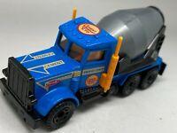 Matchbox Superfast 19 Blue Peterbilt Cement Truck - Grey Mixer - MINT