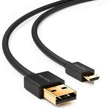 deleyCON 1m Micro USB Kabel Ladekabel USB Datenkabel Sync Kabel PC Handy Tablet