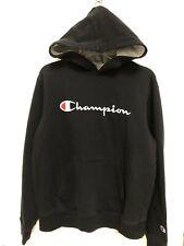 Boy's Champion Black Sweatshirt Hoodie Size XL 12