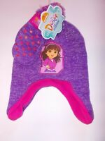 Baby girl comfy hat beanie socks and scratch guard mittens pink lilac rosettes
