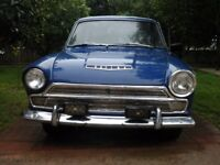 Ford Cortina GT 1964 2 door coupe Lotus candidate - Very Rare!
