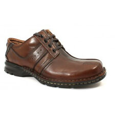 Clarks Shoes Mens Touareg 70852 Brown Leather Lace Up Bicycle Toe Oxfords 10M