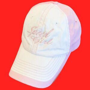 SPEED  GIRL ... Speed ... Pink  &  White  Ladies  Racing  Nascar  Hat ... NEW