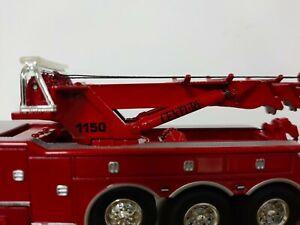 DCP VIPER RED WRECKER PETERBILT 389 CENTURY MODEL 1150 ROTATOR 1/64 60-0881A