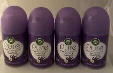4 Pk) Air Wick Lavender & Chamomile Fragrance Scent.