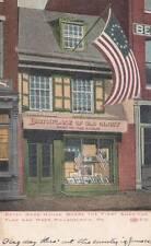 Antique POSTCARD c1907-20 Betsy Ross House PHILADELPHIA, PA 16771