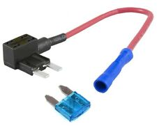 CAR FUSE BYPASS 16AWG 1.5mm WITH FUSE MINI FUSE SIZE Piggy Back Fuses