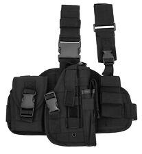 Black Tactical Right Handed Leg Thigh Holster Gun BB Airsoft Pistol Handgun 5929