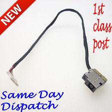 Nueva Hp Chromebook 14-q010dx 14-q010nr Dc Jack Socket Puerto Conector De Carga