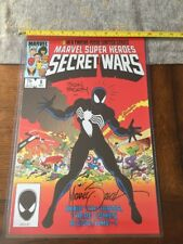 MIKE ZECK JOHN BEATTY SIGNED 11X17 AWESOME PRINT W COA! Venom Secret Wars
