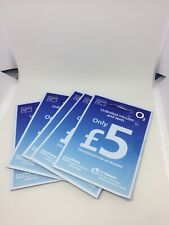 O2 Sim Card Pay As You Go £5 Credit for Unlimited Minutes/Texts PAYG 02 Number