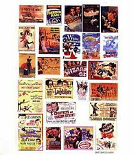 More details for theatre adverts large paper copy enamel smf38 colour oo scale models decals
