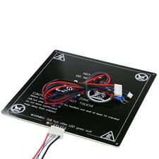 Anet A6 A8 E10 E12 E16 12/24V heatbed 220*220/300*300*3mm Aluminum MK3 Heated