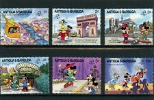 Walt Disney Cartoon stamp set from Antigua & Barbuda UMM