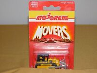 "VINTAGE TOY  3"" DIE CAST METAL MAJORETTE MOVERS 287 BULLDOZER SEALED PACKAGE"