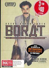 BORAT  Sacha Baron Cohen DVD Region 4