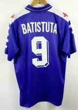 Maglia Maglietta Retrò Calcio Fiorentina 1998 #9 BATISTUTA Home Away Shirt
