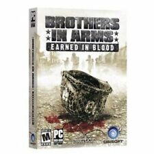 Brothers in Arms Earned in Blood  PC Shooter  NEW in Retail Box  US version
