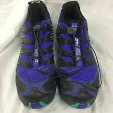Mens 8.5 Salomon XA PRO 3D Hiking Shoes Mountain Trail Running Ortholite