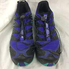 Mens 8.5 Salomon XA PRO 3D Hiking Shoes Mountain Trail Running Ortholite