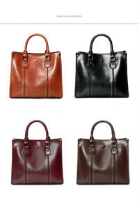 New Women's Large Style PU Tote Shopper Hand Bag
