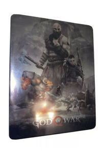 """God of War Steelbook Case PS4 (NO GAME) """"CUSTOM"""""""