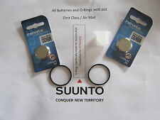 2 Renata battery & O-ring set Suunto Vyper, Vytec, Gekko,Zoop & HelO2 + grease