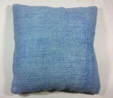 Handmade Hemp Pillow Cover 18x18 Home Decorative Sofa Couch Lumbar Cushion  1531