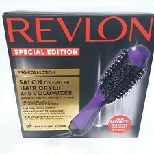 Revlon Pro Collection Salon One-step Hair Dryer and Volumizer RVDR5222PUR