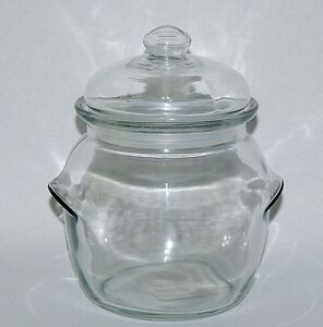 Anchor Hocking Glass Storage Preserve Coffee Tea Sweets Jar with Airtight Lid