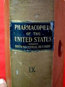 1916  THE PHARMACOPCEIA OF THE UNITED STATES